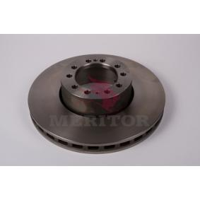Disco de travão MBR9020 MERITOR Pagamento seguro — apenas peças novas