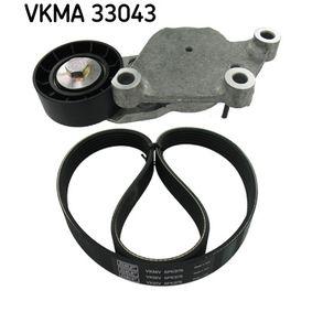SKF Keilrippenriemensatz VKMA 33043 rund um die Uhr online kaufen