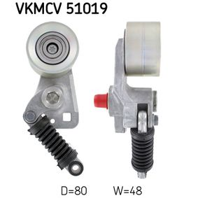 Cumpărați rola intinzator, curea transmisie SKF VKMCV 51019
