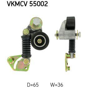 Buy SKF Tensioner Pulley, v-ribbed belt VKMCV 55002