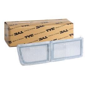 TYC Acoperire, faruri ceata 12-1602-01-6 cumpărați online 24/24