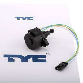 TYC Element nastawczy, regulacja położenia reflektorów 20-11257-MA-1 kupować online całodobowo