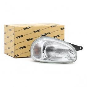 kupte si TYC Hlavní světlomet 20-3203-85-2 kdykoliv