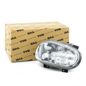 TYC Hauptscheinwerfer 20-5385-18-2 – herabgesetzter Preis beim online Kauf