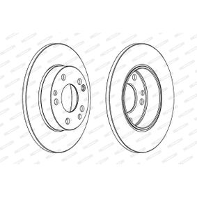 Brake Disc DDF053 FERODO Secure payment — only new parts