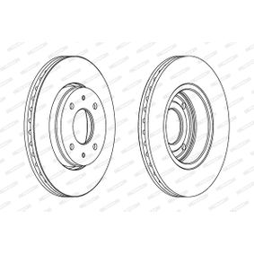 Brake Disc DDF1068 at a discount — buy now!