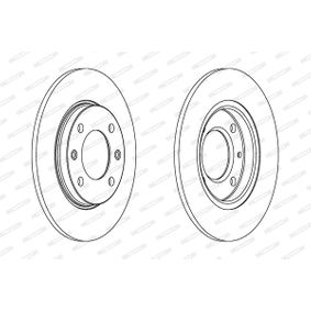 Brake Disc DDF244 FERODO Secure payment — only new parts