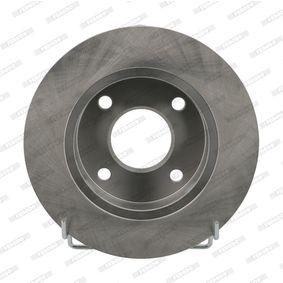 Bromsskiva DDF845 FERODO Säker betalning — bara nya delar