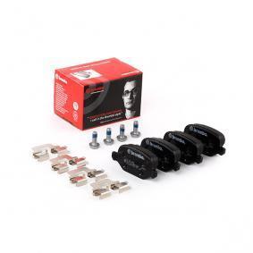 P23065 Brake Pad Set, disc brake BREMBO - Huge selection — heavily reduced