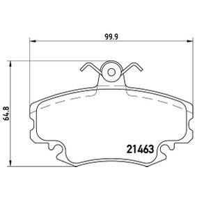 Jeu de plaquettes de frein, frein à disque P 68 038 à prix réduit — achetez maintenant!