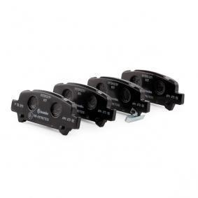 P78011 Bremsbelagsatz, Scheibenbremse BREMBO - Riesenauswahl — stark reduziert