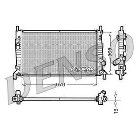 Radiateur, refroidissement du moteur DRM10075 DENSO Paiement sécurisé — seulement des pièces neuves