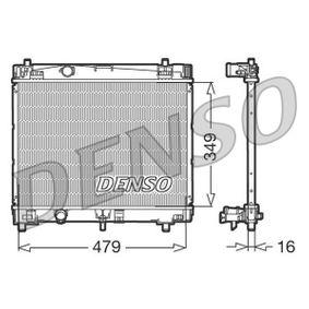 Radiateur, refroidissement du moteur DRM50003 DENSO Paiement sécurisé — seulement des pièces neuves