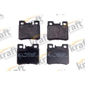 kjøpe KRAFT Bremsebelegg sett, skivebremse K6011130 når som helst