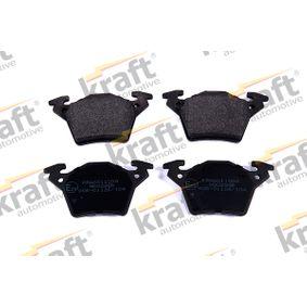kjøpe KRAFT Bremsebelegg sett, skivebremse K6011098 når som helst