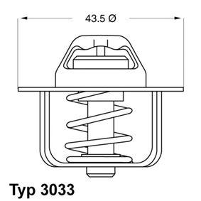 WAHLER Termostato, Refrigerante 3033.78 acquista online 24/7