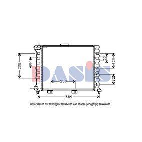 Radiatore, Raffreddamento motore 010180N con un ottimo rapporto AKS DASIS qualità/prezzo