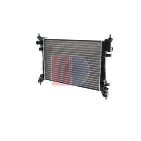 Radiatore, Raffreddamento motore 080087N con un ottimo rapporto AKS DASIS qualità/prezzo