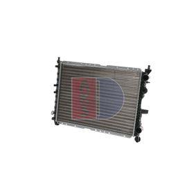 Radiatore, Raffreddamento motore AKS DASIS 080340N comprare e sostituisci