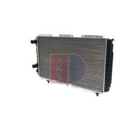 Radiatore, Raffreddamento motore 080900N con un ottimo rapporto AKS DASIS qualità/prezzo