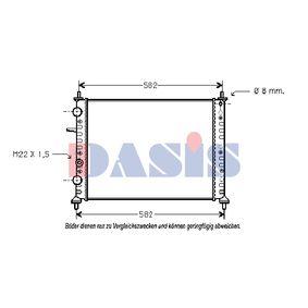 Radiatore, Raffreddamento motore AKS DASIS 081060N comprare e sostituisci