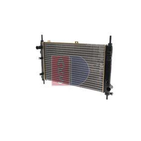 Radiatore, Raffreddamento motore 090710N con un ottimo rapporto AKS DASIS qualità/prezzo
