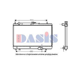 Achetez et remplacez Radiateur, refroidissement du moteur 111020N