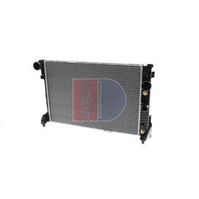 Radiateur, refroidissement du moteur 120051N à un rapport qualité-prix AKS DASIS exceptionnel