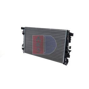 Radiatore, Raffreddamento motore AKS DASIS 121000N comprare e sostituisci