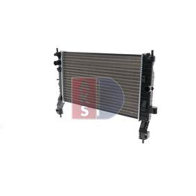 Radiatore, Raffreddamento motore 150062N con un ottimo rapporto AKS DASIS qualità/prezzo