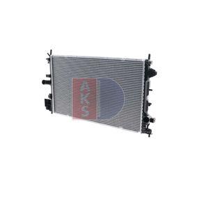 Radiatore, Raffreddamento motore AKS DASIS 150081N comprare e sostituisci