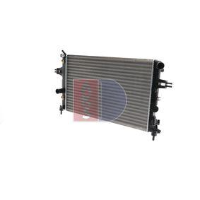 Radiatore, Raffreddamento motore 151640N con un ottimo rapporto AKS DASIS qualità/prezzo