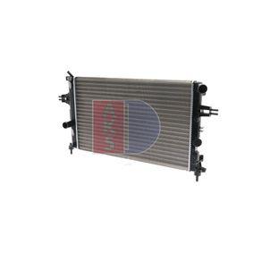 Radiatore, Raffreddamento motore 151670N con un ottimo rapporto AKS DASIS qualità/prezzo
