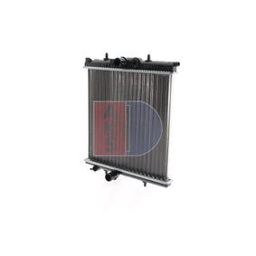 Radiatore, Raffreddamento motore AKS DASIS 160097N comprare e sostituisci