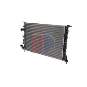 Radiatore, Raffreddamento motore 180290N con un ottimo rapporto AKS DASIS qualità/prezzo