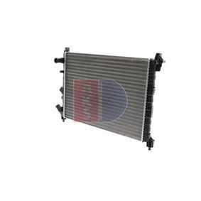 Radiatore, Raffreddamento motore 180810N con un ottimo rapporto AKS DASIS qualità/prezzo