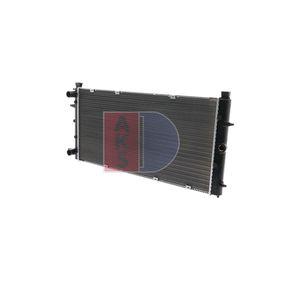 Radiateur, refroidissement du moteur 240050N à un rapport qualité-prix AKS DASIS exceptionnel