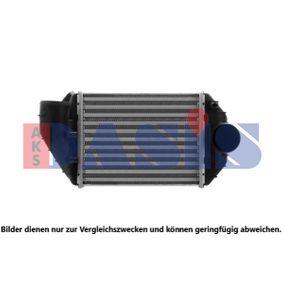 AKS DASIS интеркулер (охладител за въздуха на турбината) 487090N купете онлайн денонощно