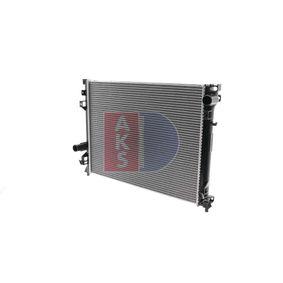 Radiatore, Raffreddamento motore AKS DASIS 520025N comprare e sostituisci