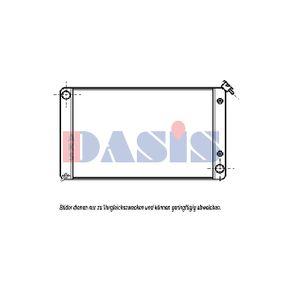 Radiatore, Raffreddamento motore AKS DASIS 520034N comprare e sostituisci