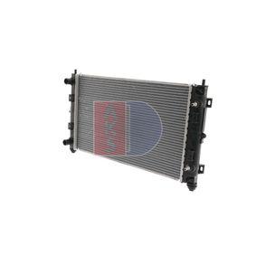 Radiatore, Raffreddamento motore AKS DASIS 520500N comprare e sostituisci
