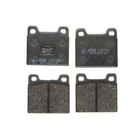 комплект спирачно феродо, дискови спирачки ABE C1W018ABE купете и заменете