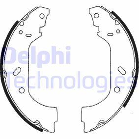 DELPHI спирачен комплект, барабанни спирачки LS1715 купете онлайн денонощно