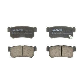 Compre e substitua Jogo de pastilhas para travão de disco ABE C20008ABE