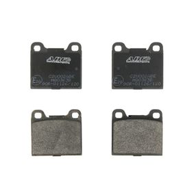 Brake Pad Set, disc brake C2V002ABE for VOLVO 850 at a discount — buy now!