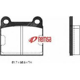 Kit pastiglie freno, Freno a disco 0006.60 per ALFA ROMEO GTA a prezzo basso — acquista ora!