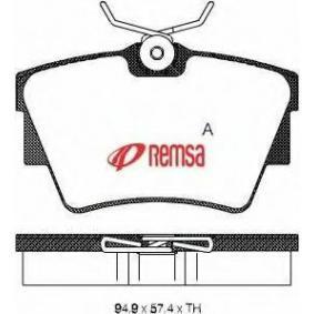 комплект спирачно феродо, дискови спирачки 0591.30 за NISSAN PRIMASTAR на ниска цена — купете сега!