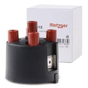compre METZGER Tampa do distribuidor de ignição 0881015 a qualquer hora