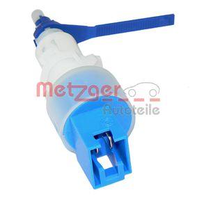 METZGER Kapcsoló, kuplung működtetés (tempomat) 0911067 - vásároljon bármikor