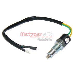 Pērc METZGER Slēdzis, Atpakaļgaitas signāla lukturis 0912002 jebkurā laikā